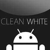 GO SMS Clean White Theme