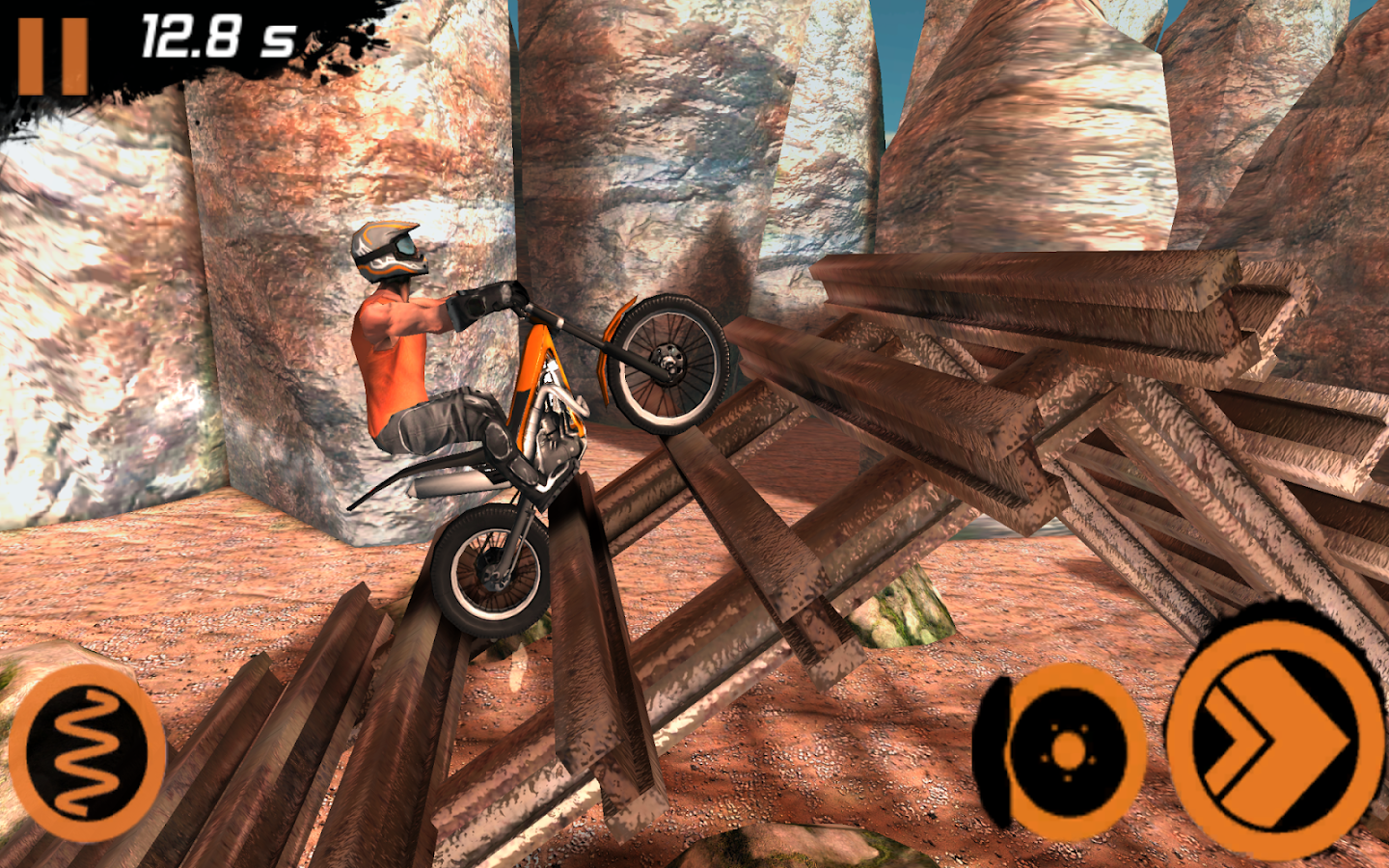 Trial Xtreme 2 Racing Sport 3D- 스크린샷