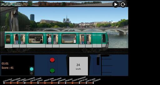 パリの地下鉄のシミュレーター|玩模擬App免費|玩APPs