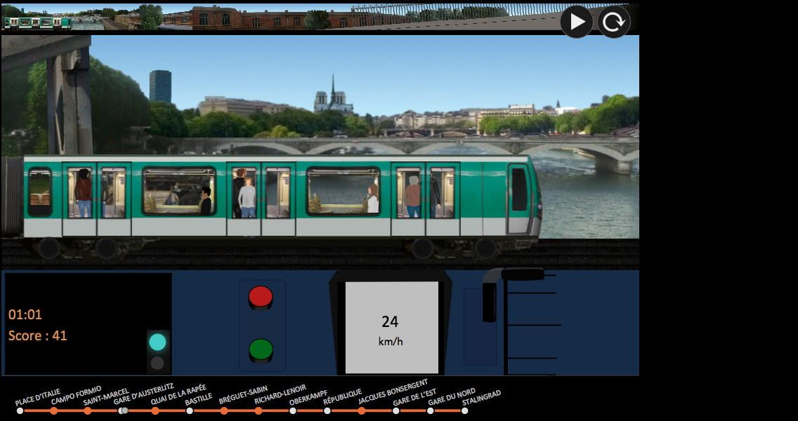 Paris Métro Simulator- screenshot