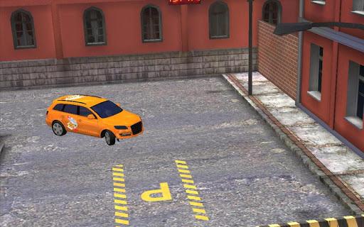 ピザの配達の駐車3DのHD