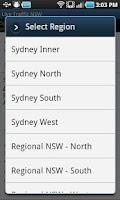 Screenshot of NSW Traffic
