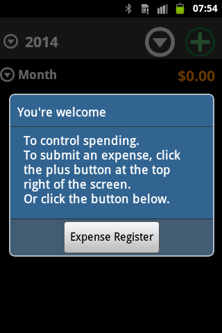 Track of Expenses