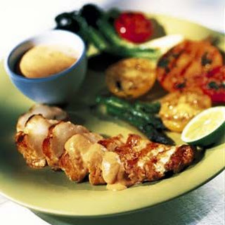 Monkfish with Chipotle Sauce Recipe