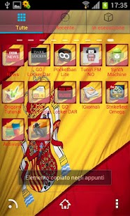 Espana 2012 Theme Go / Nova - screenshot thumbnail