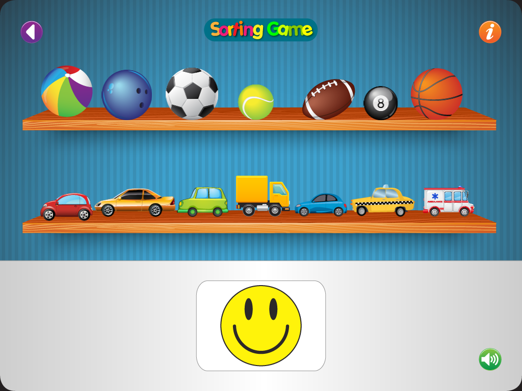 Sorting Game- screenshot