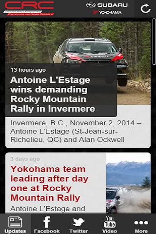 【免費運動App】Canadian Rally Championship-APP點子
