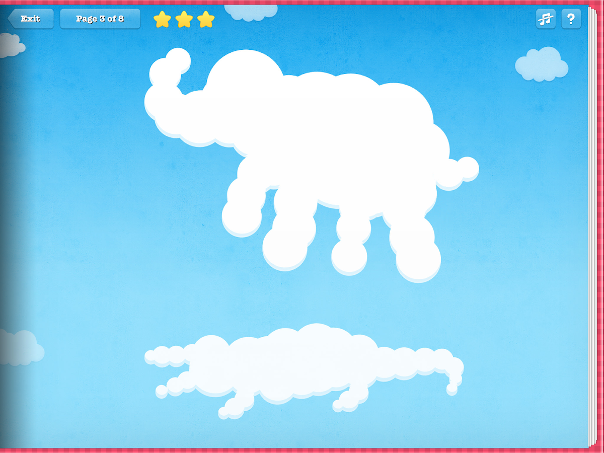 cloud shapes for toddlers android apps on google play