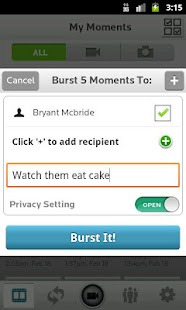 Burst- screenshot thumbnail