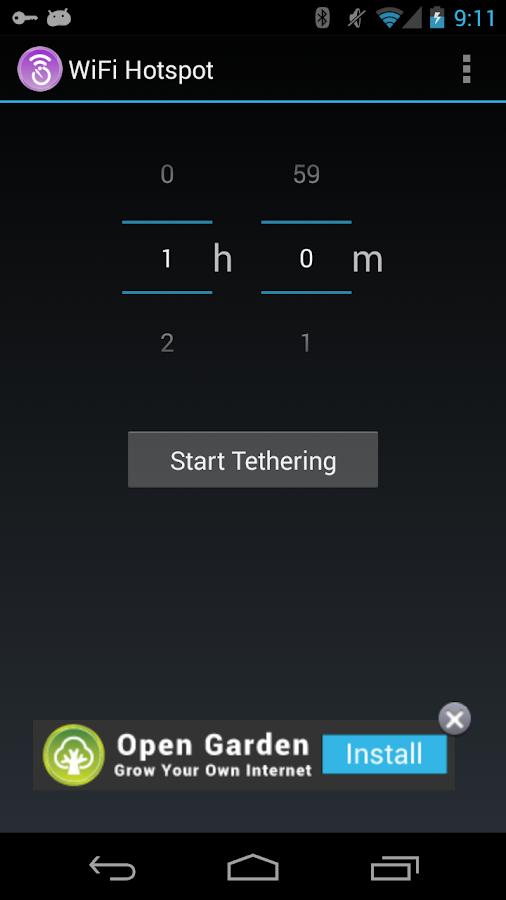 WiFi Hotspot - screenshot