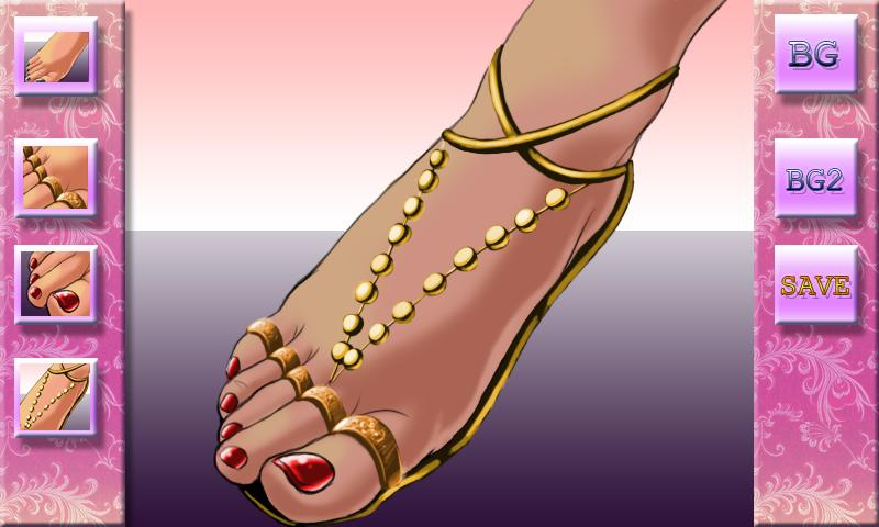 Fiona's Pedicure Designer - screenshot