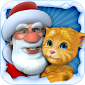 Free Download Talking Santa meets Ginger + APK for Samsung