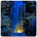 4D Waterfall Live Wallpaper icon