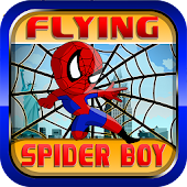 Awesome Flying Spider Boy