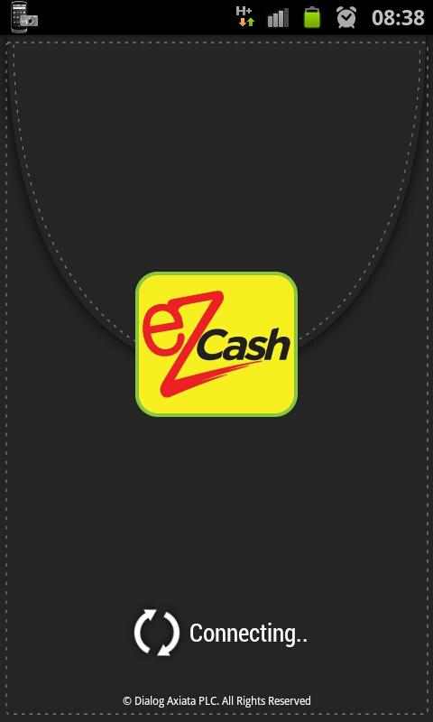eZ Cash- screenshot