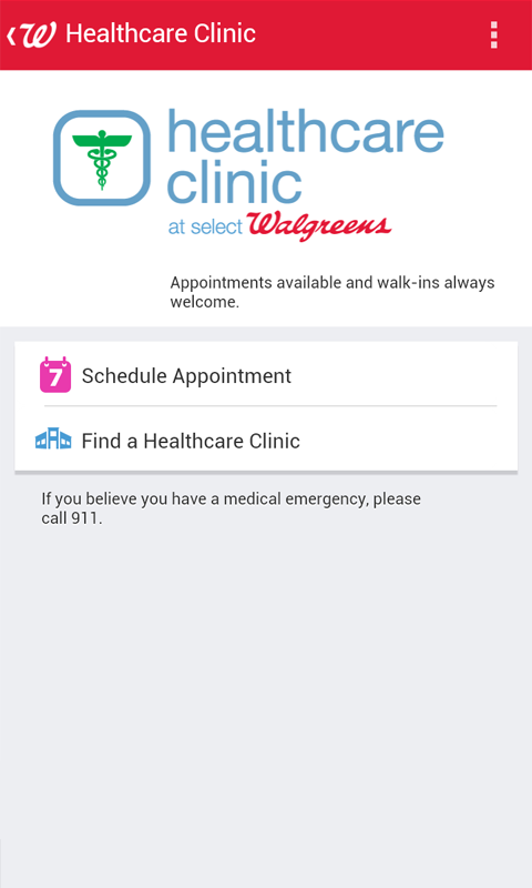 Walgreens - screenshot