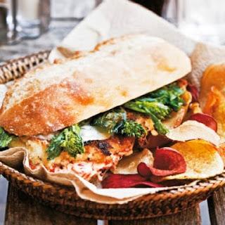 Philly-Style Chicken Cutlet Sandwich