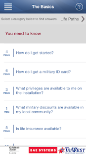 MyMilitaryLife - screenshot thumbnail