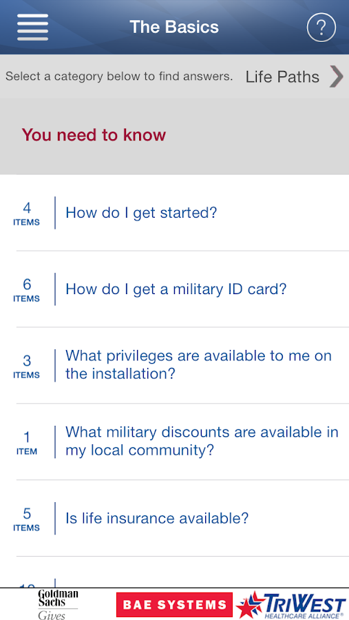 MyMilitaryLife - screenshot