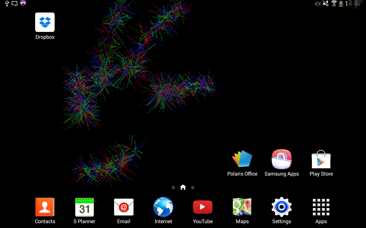 Crazy Particles Live Wallpaper- screenshot