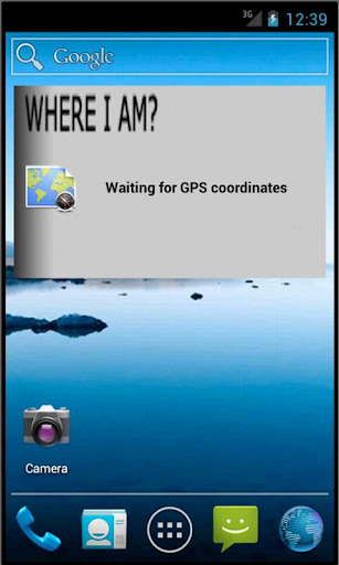 My GPS Widget