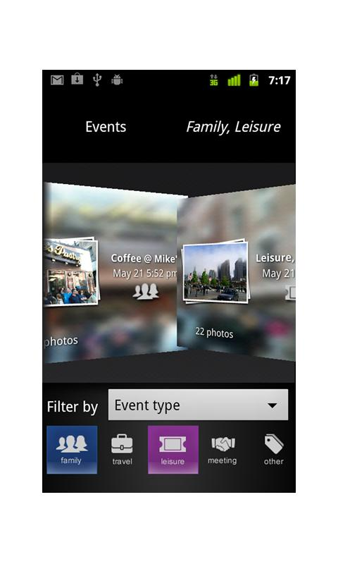VisR - A Smart Photo Gallery - screenshot