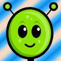 Alien Asteroid Racer HD logo