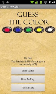 Guess The Color- screenshot thumbnail