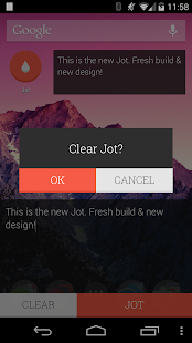 JOT! - Notes Widget- screenshot thumbnail