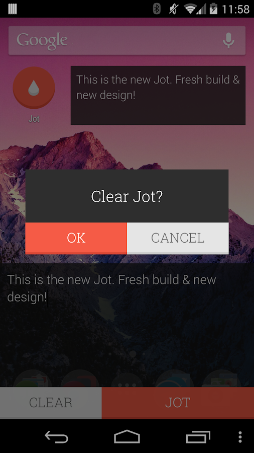 JOT! - Notes Widget- screenshot