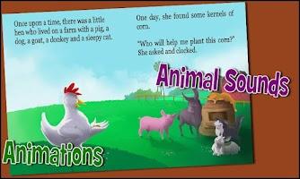 Screenshot of Little Hen - A kids story app