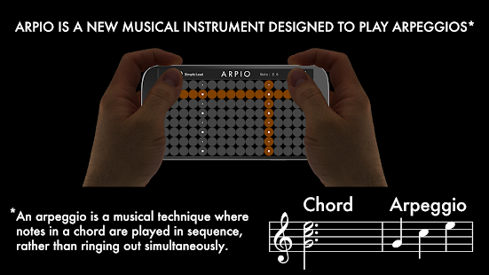 ARPIO a new musical instrument- screenshot thumbnail