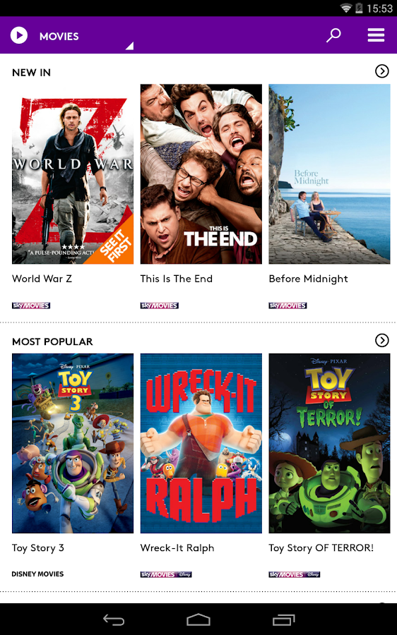 NOW TV: Movies, TV & Sport - screenshot