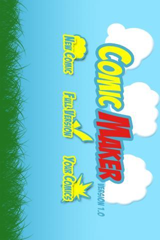 Comic Maker- screenshot