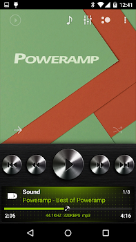 Skin for Poweramp Dark Metal