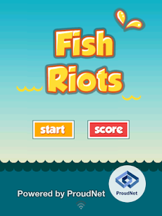 Fish Riots-MMO Flappy Jumpers