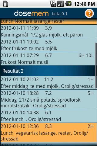 dosemem- screenshot