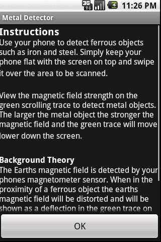 Metal Detector- screenshot