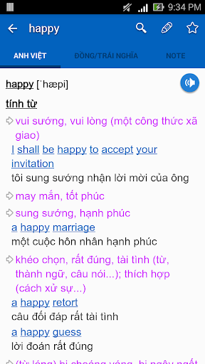 English Vietnamese Dictionary TFlat 6.4.8 screenshots 2