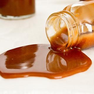 Salted Caramel Sauce.