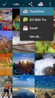 Screenshot of CloudSend