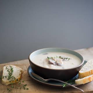 Creamy Turkey Potato Soup.