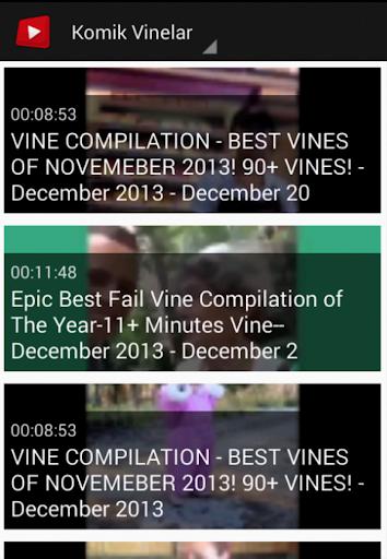 Komik Vine Videoları