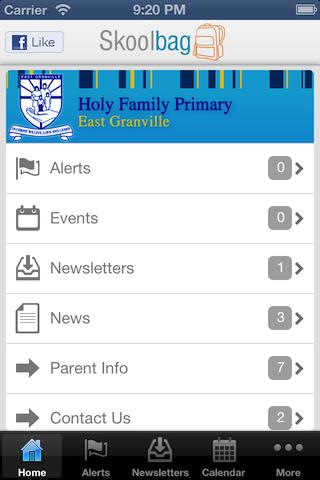 Holy Family Primary Granville - screenshot