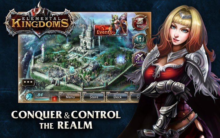 android Elemental Kingdoms (CCG) Screenshot 6