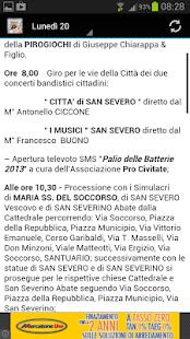 San Severo Festa Del Soccorso - screenshot thumbnail