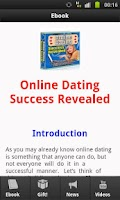 Screenshot of Online Dating Success Revealed