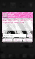 Screenshot of Glamour Pink Luxury Theme SMS★