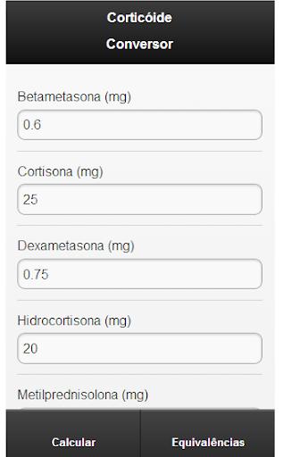 Corticoid Converter