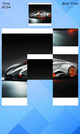 Cars Slidding Puzzle